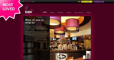 Kobe Website Screenshot