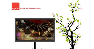 Logistik Website Screenshot