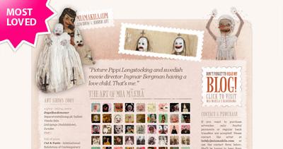 Mia Mäkilä Website Screenshot
