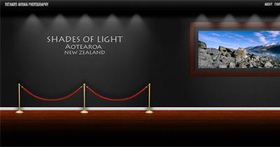 Richard Arran Photography Website Screenshot