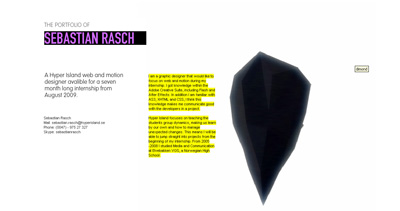 Sebastian Rasch Website Screenshot