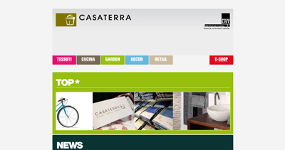 Casaterra Website Screenshot