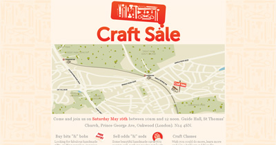 Craft Sale Website Screenshot