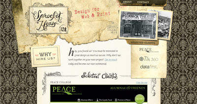 Sprocket House Website Screenshot