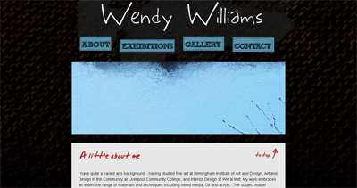 Wendy Williams Website Screenshot