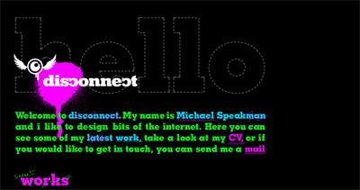 Disconnect Website Screenshot