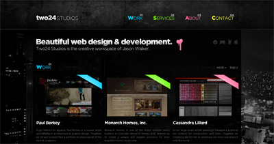 Two24 Studios Website Screenshot