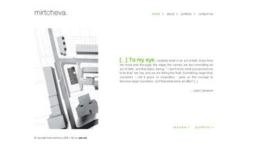 mirtcheva Website Screenshot