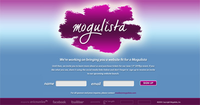 Mogulista Website Screenshot
