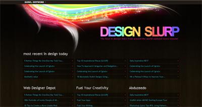 Design Slurp Website Screenshot