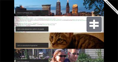 steven vondruska Website Screenshot