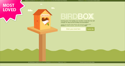 Birdboxx Website Screenshot