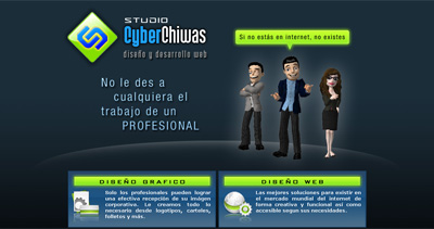 Studio CyberChiwas Website Screenshot