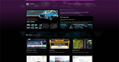 Graziano Website Screenshot