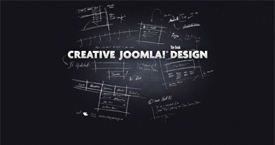 Creative Joomla! Design Book Website Screenshot