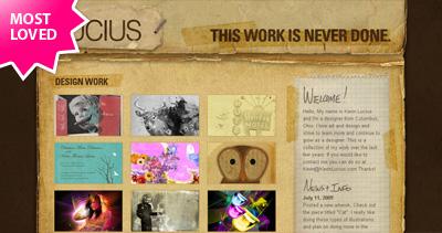 Kevin Lucius Website Screenshot