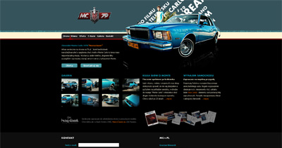 Chevy Monte Carlo 1979 Website Screenshot