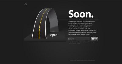 The Apex Profile Website Screenshot