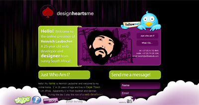 designheartsme Website Screenshot