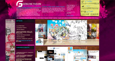 Genuine Fusion Website Screenshot
