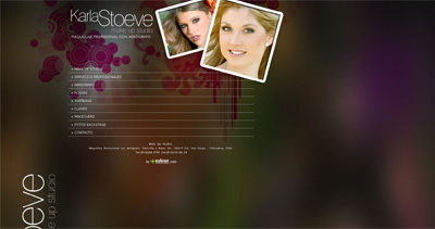 Karla Stoeve Website Screenshot