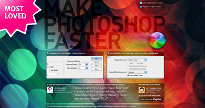 Make Photoshop Faster Website Screenshot
