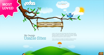 Yodaa Website Screenshot