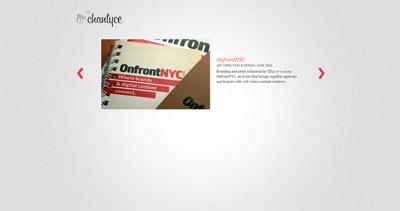 Chantyce Website Screenshot