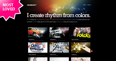 visualgroove Website Screenshot