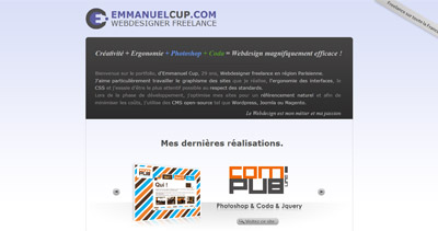 Emmanuel Cup Website Screenshot