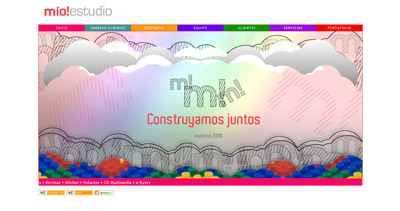 Mio!estudio Website Screenshot