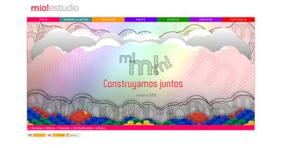 Mio!estudio Website Screenshot