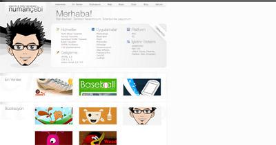 Numan Çebi Website Screenshot