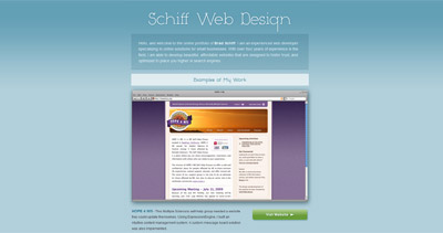 Schiff Web Design Website Screenshot