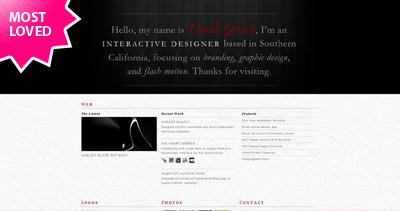 Thanh Quach Website Screenshot