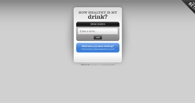 How Healthy is My Drink? Thumbnail Preview