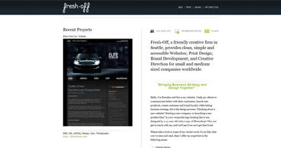 Fresh-Off Website Screenshot