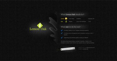 Lemon Oak Website Screenshot