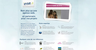 inseo Website Screenshot