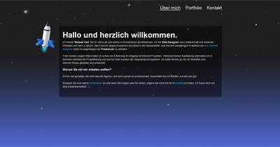 Thomas Veit Website Screenshot