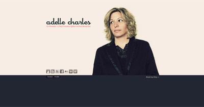 Adelle Charles Website Screenshot