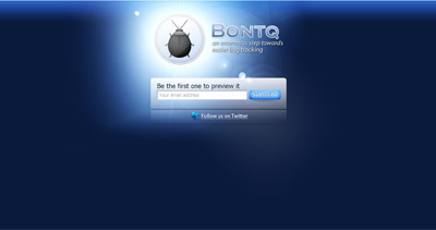 Bontq Website Screenshot