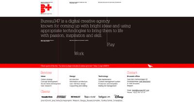 Bureau347 Website Screenshot