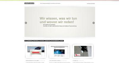 Kollektivdreinull Website Screenshot
