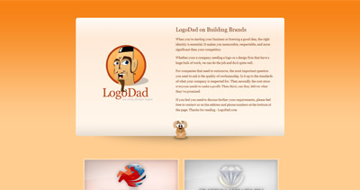LogoDad Website Screenshot