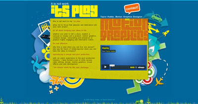 its play Website Screenshot