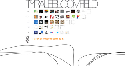 Tyrale Bloomfield Website Screenshot