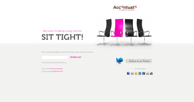 Accentuate Website Screenshot