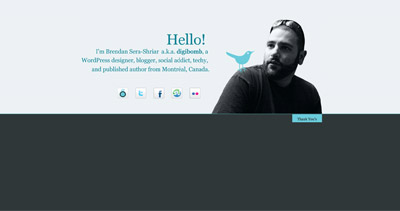 Brendan Sera-Shriar Website Screenshot