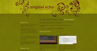 Original Echo Website Screenshot
